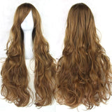 Myla Synthetic Wigs (20 SHADES) - affordable Cheap Clothes Long Length Quality - brown / 32inches