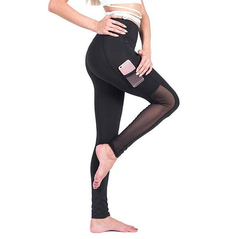 Naomi Mesh Leggings - affordable Cheap Clothes Leggings Quality - Black 1096 / S