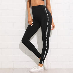 Never Too Late High Waist Leggings - affordable Cheap Clothes Quality styles