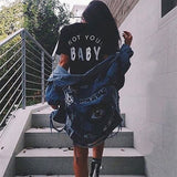 Not Your Baby Shirts - affordable Cheap Clothes Quality styles