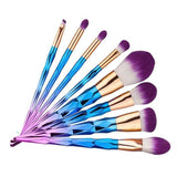 Ombre 7 Piece Brush Set - affordable Brushes Cheap Clothes Quality