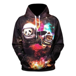 Panda Kitty Hoodies - affordable Cheap Clothes Quality styles - WE44 / XL