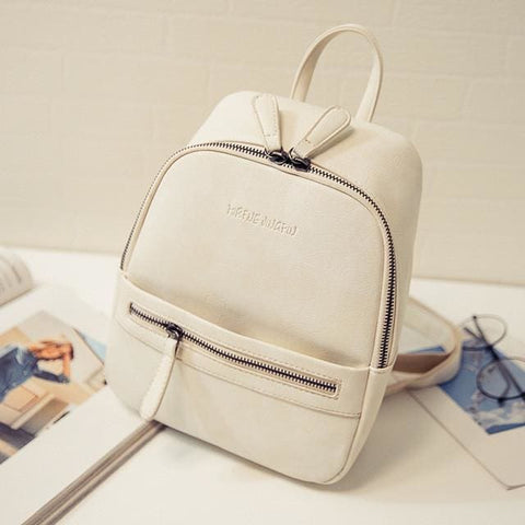 Pastel Mini Backpacks - affordable Backpacks Cheap Clothes Quality - Beige
