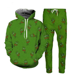 Pepe Frog Tracksuits - affordable Cheap Clothes Mens Bottoms Mens Hoodies