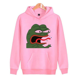Pepe REEEE Hoodies - Mens Hoodies