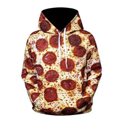 Pizza Hoodies - affordable Cheap Clothes Quality styles - WE47 / XL