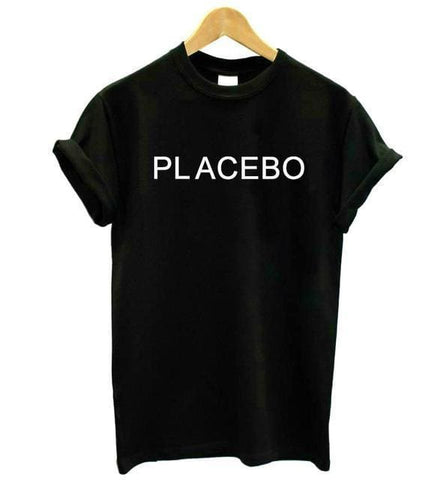 PLACEBO Shirts - affordable Cheap Clothes Quality styles - Black / S