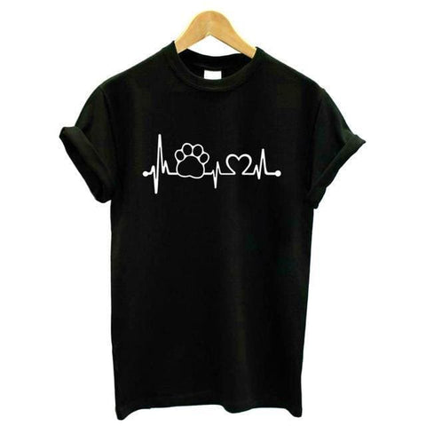 Puppy Love Shirts - affordable Cheap Clothes Plus Size Quality - Black / 4XL