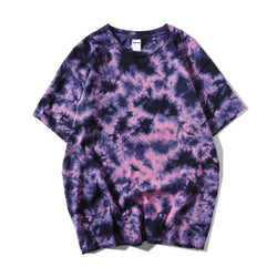Purple Tie Dye Shirt - Shirts