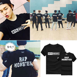 Rap Monster Shirts - affordable BTS Cheap Clothes Quality