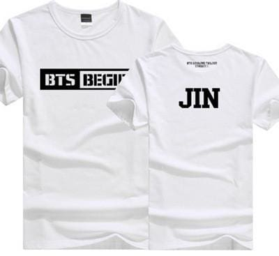 Rap Monster Shirts - affordable BTS Cheap Clothes Quality - JIN White / S