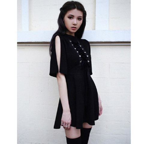 Reo Lace Up Dresses - affordable Cheap Clothes Quality styles