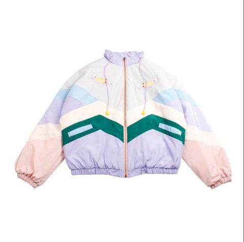 Retro Windbreaker - affordable Cheap Clothes Quality styles