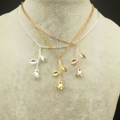 Rose Gold Plated Necklaces - affordable Cheap Clothes Quality styles