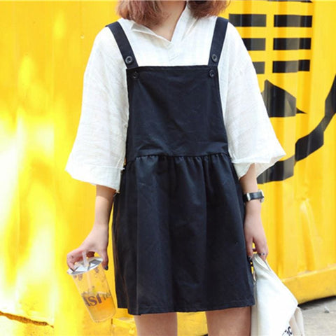 Sara Overall Dress - affordable Cheap Clothes Dresses Quality
