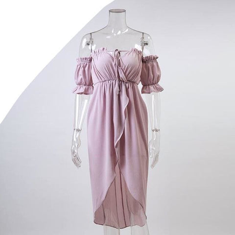 Sassaria Dress - affordable Cheap Clothes Quality styles - Lavender / S