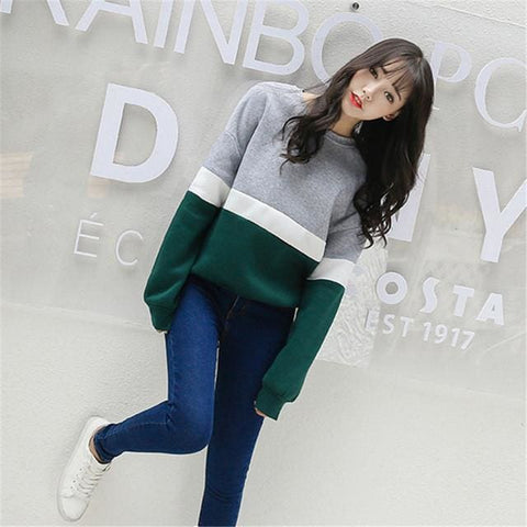 Seoul Sweaters - affordable Cheap Clothes Quality styles - Gray and green / L