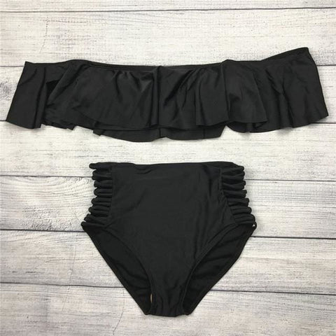 Serenity Bikinis - affordable Cheap Clothes Quality styles - black / L