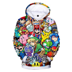 Smash Bros Hoodies - Mens Hoodies