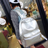 Solid Backpacks - affordable Cheap Clothes Quality styles - White