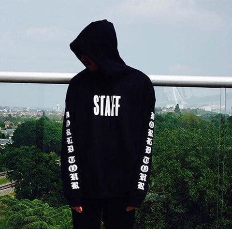 STAFF Hoodies - affordable Cheap Clothes Mens Hoodies Quality - Black / S