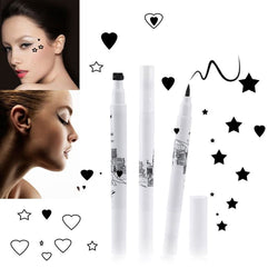 Star/Heart Stamp Eyeliner - affordable Cheap Clothes Quality styles