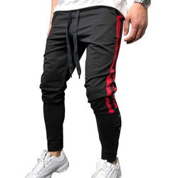 Striped Black Joggers - affordable Cheap Clothes Quality Streetwear Bottoms