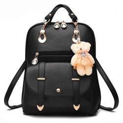 Teddy Backpacks - affordable Backpacks Cheap Clothes Quality - Black