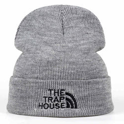 THE TRAP HOUSE Beanies - affordable Cheap Clothes Quality styles - Gray