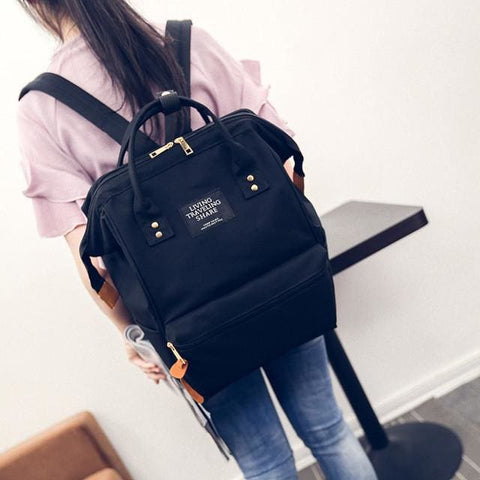 Travel/Handbag Backpack - affordable Cheap Clothes Quality styles - Black / One Size