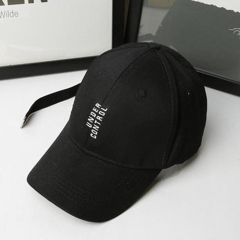 Under Control Hats - affordable Cheap Clothes Quality styles - Black