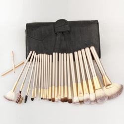 Velvet Teddy Brush Set w/ Case - affordable Brushes Cheap Clothes Quality