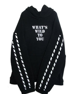 Whats Wild To You Hoodies - affordable Cheap Clothes Hoodies Quality