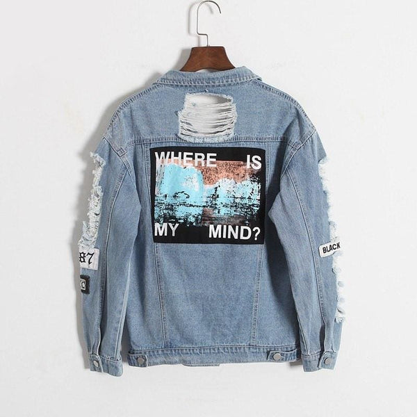 Where is my mind Jacket - affordable Cheap Clothes Quality Streetwear Tops