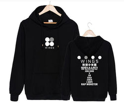 WINGS BTS Hoodies - affordable BTS Cheap Clothes Quality