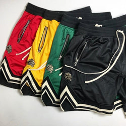 Wolf Drawstrings Shorts - affordable Cheap Clothes Quality Streetwear Bottoms