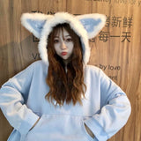 Wolf Ears Hoodies - affordable Cheap Clothes Quality styles