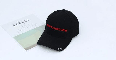59844e83c80 You Never Understand Me Hats - affordable Cheap Clothes Quality styles -  Black
