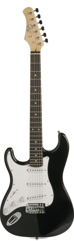 S-300 LH Left Handed Black - Electric guitar lefthanded