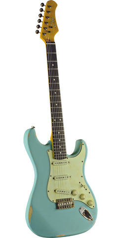 S-300 Relic - Daphne Blue - Electric Guitar