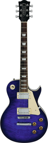 VL-480 See Thru Blue Quilted - Electric guitar
