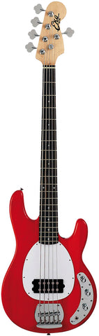 MM-305 Chrome Red - Electric Bass