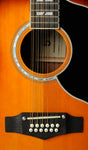 Eko 06216941 Ranger XII Vintage Reissue 12 String Acoustic Guitar - Honey Burst