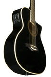NXT 018 CW EQ Black - Acoustic Guitar with EQ