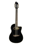 Eko 06217039 NXT Series Nylon Cutaway Acoustic Electric Guitar - Black