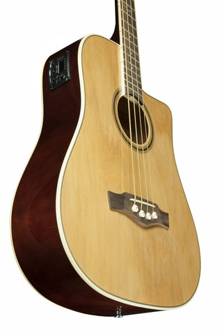 NXT BASS D CW EQ Natural - Acoustic Bass with EQ