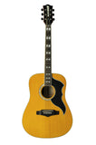 Eko 06217128 Ranger VI Vintage Reissue 6 String Acoustic Electric Guitar - Natural