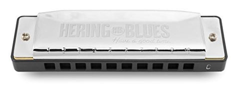 Hering 2020D Diatonic Blues Harmonica Brass with Chrome Coating Key of D