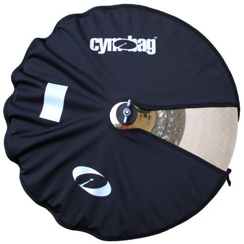 Cymbag CY25BK Bag for Cymbals Microfiber Material 25 Inches