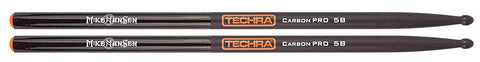 Techra CPSG-MH Mike Hansen Signature Series Drum Sticks - Carbon Fiber 5B
